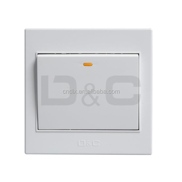 d&c]shanghai Delixi Electrical Wall Switches Brand - Buy Electrical ...