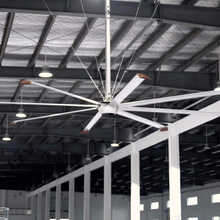 24ft Hvls Langit-langit Industri Fan Axial Flow Fans Kipas AC