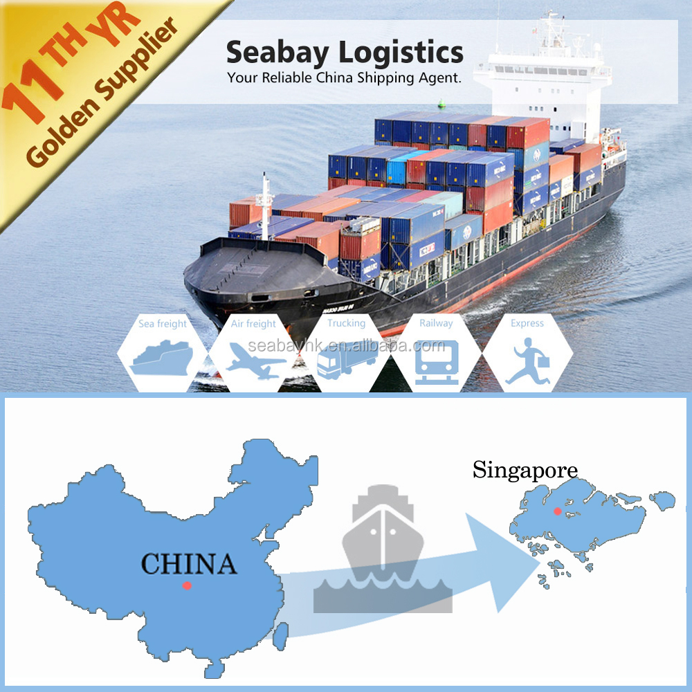 Qingdao shipping freight forwarder service to Singapore