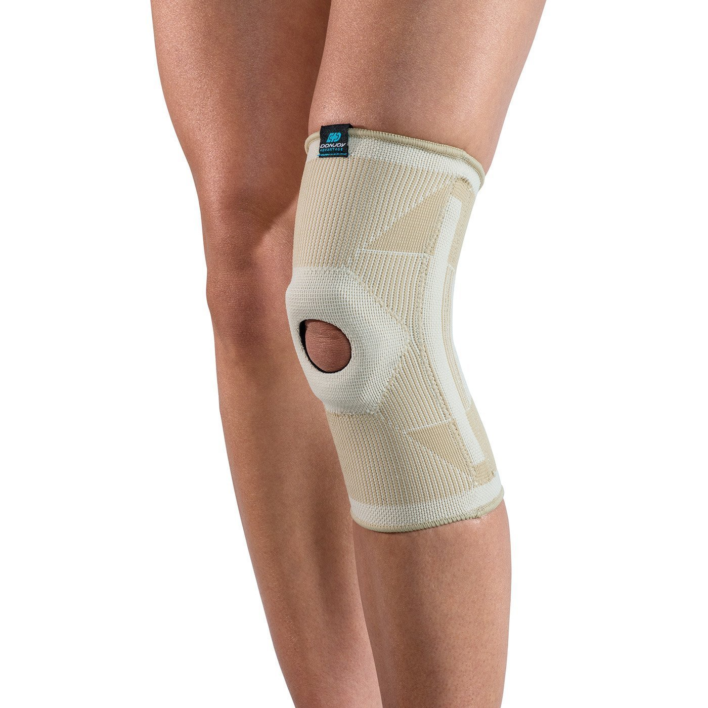 c2f7aaf7f0 Get Quotations · DonJoy Advantage DA161KS02-TAN-L Deluxe Elastic Knee for  Sprains, Strains, Swelling