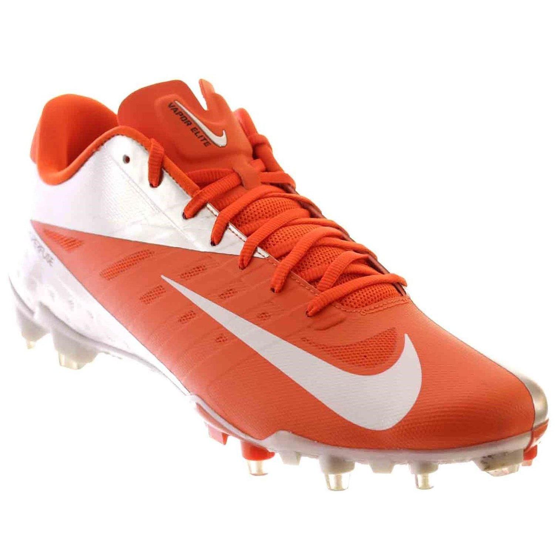 a036c79c5bc9 Nike Vapor Talon Elite Low Mens Football Shoes Orange Flash White 15 M