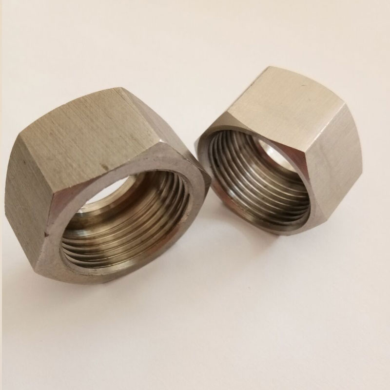 CNC Machined Parts Stainless Steel Hex Lock Nut