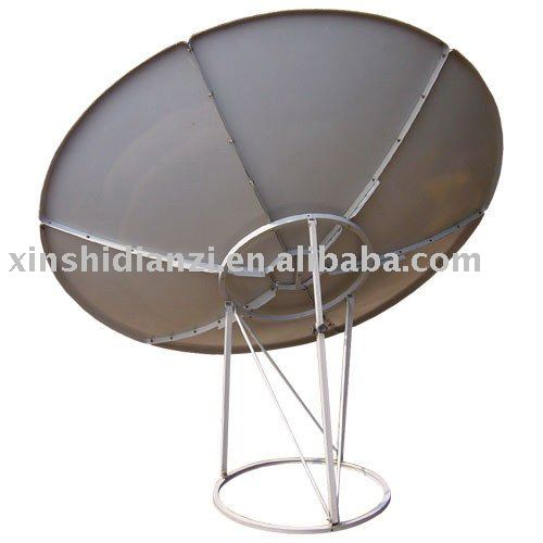 C-band 180cm satellite dish antenna