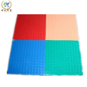 Red Color Hot Stamping Silicone Rubber Sheet