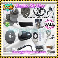 Bicycle Engine Kit/ Black Chromed Bike Engine/ 2 Stroke Kick Start ...