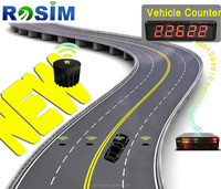FCC Vehicle detection automatic traffic counting road magnetic car traffic counter