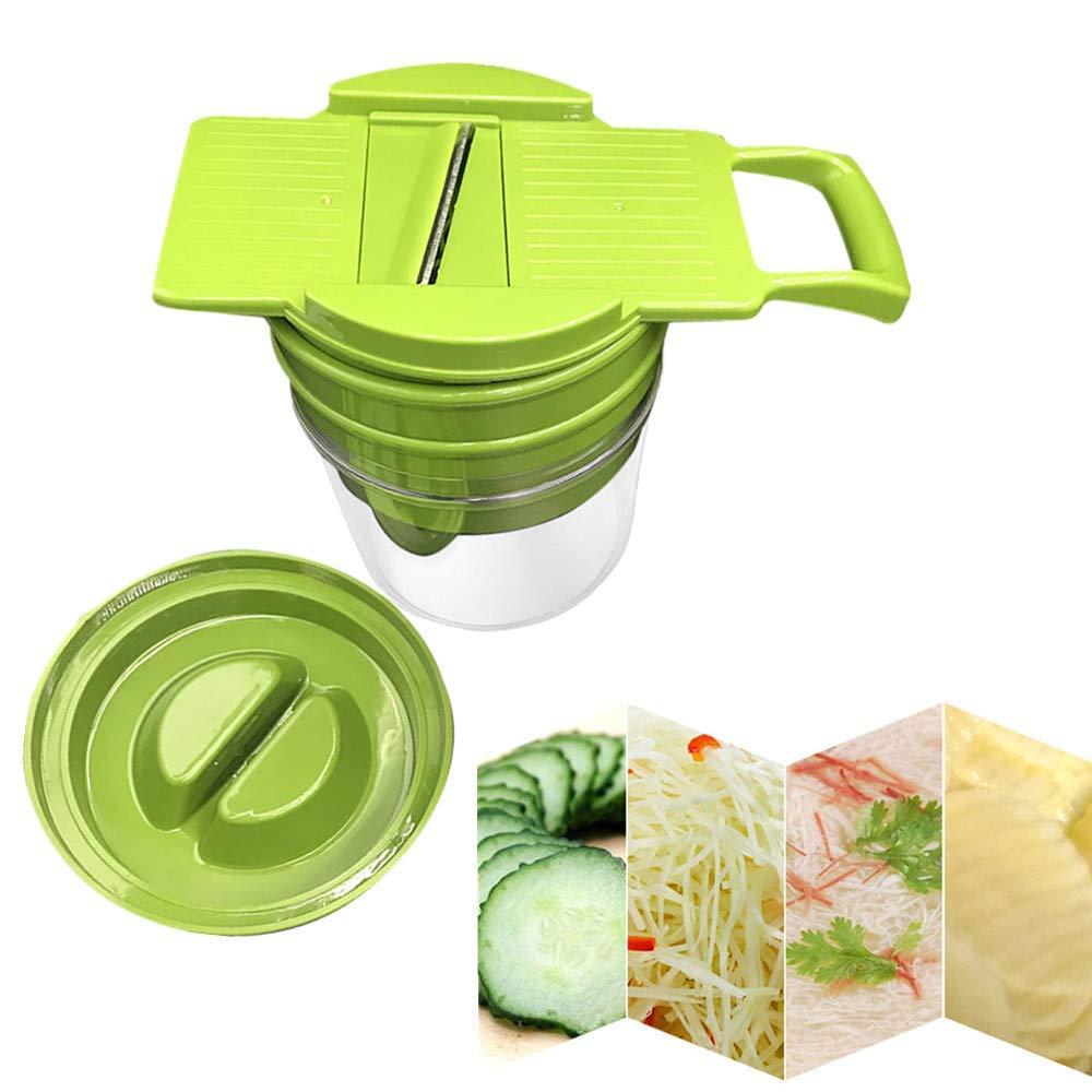 SUJING Manual Vegetable Slicer Dicer Onion Chopper Vegetable Fruit Slicer Cutter Chopper Grater
