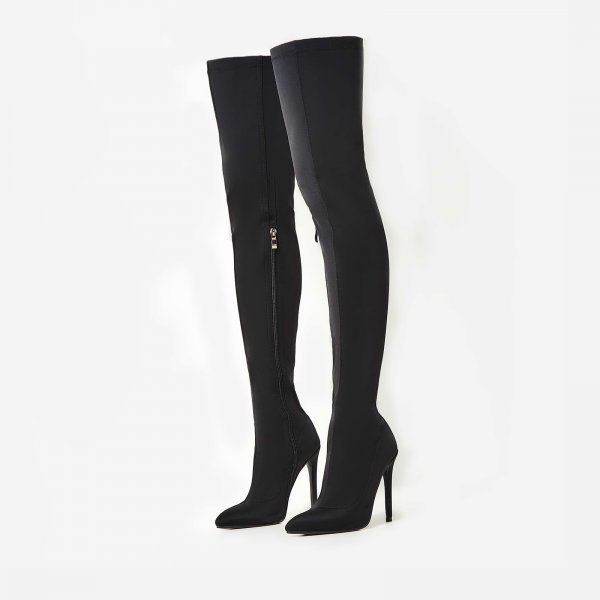 Alabama 2017 Fashion Lycra Over Knee <strong>Boots</strong> High Heel Women <strong>Boots</strong>