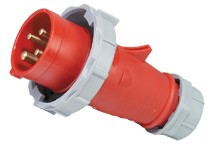 European standard plug Jiahui CEE/IEC international plug 4P 32A IP67 waterproof industrial male plug