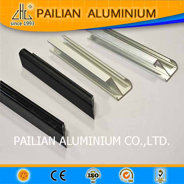 Aluminum profiles for LED aluminium picture frame /outdoor light box brushed aluminium picture frame