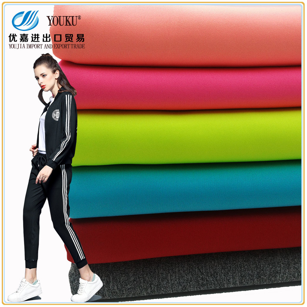 95% Polyester 5% Spandex Air Layer Scuba knitted Fabric for sportswear
