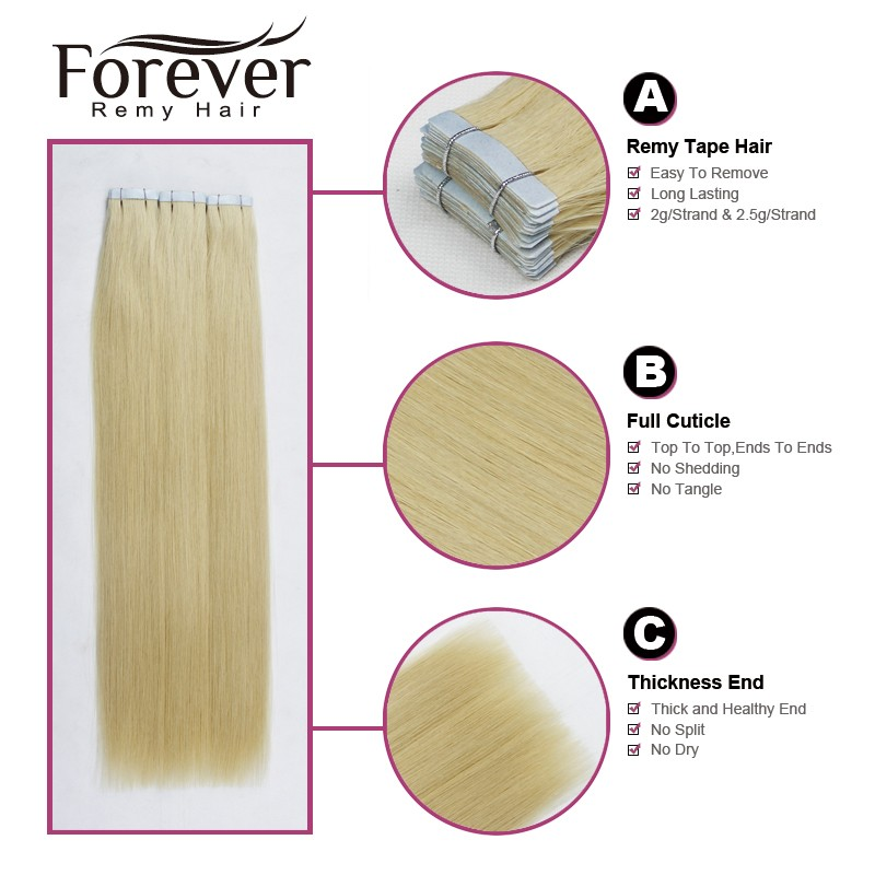 2016 best seller in us Wholesale 18inch brazilian straight hair wholesale virgin blonde tape curly hair extensions