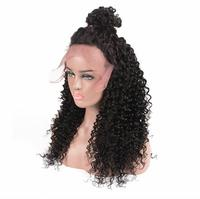 Fashion style jet black deep wave kinky twist braided lace wig,sexy wigs for women