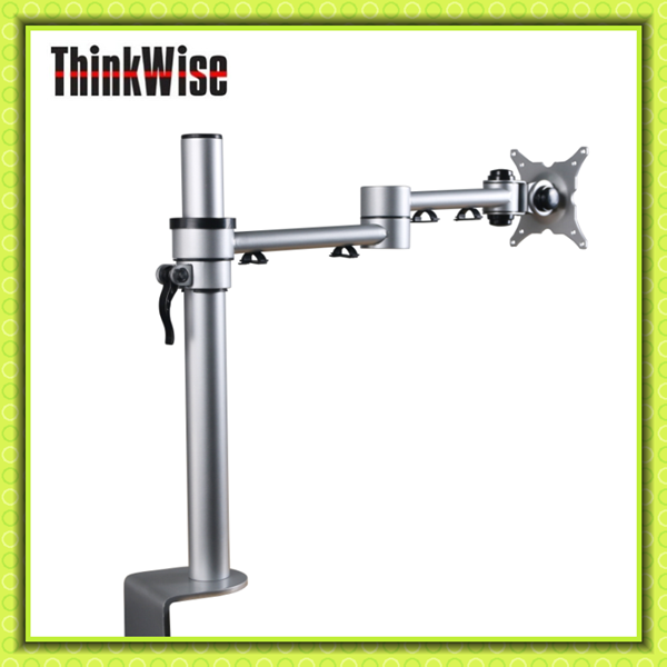 Basic Monitor Arm With Articulated Arm Pole Stand- Thinkwise E101 ...