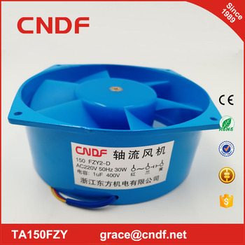 cndf 220/240vac 150fzy2-d blower fan 150x160x60mm 30w 0 16amp