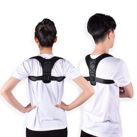 ZRWM30 Men / Women Adjustable Posture Corrector Back Support Shoulder Back Brace Belt Walmart