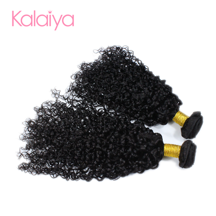 Best selling 9A grade curl mink raw braids on weft hair