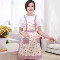 Women Floral Print princess Apron Cooking Kitchen Restaurant Home Bib Baking Dress Kitchen Cooking Unisex Aprons 26styles