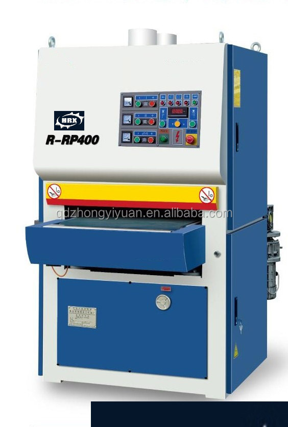 R-rp400 Heavy Duty Wide Belt Sanding Machine Horizontal Belt ...