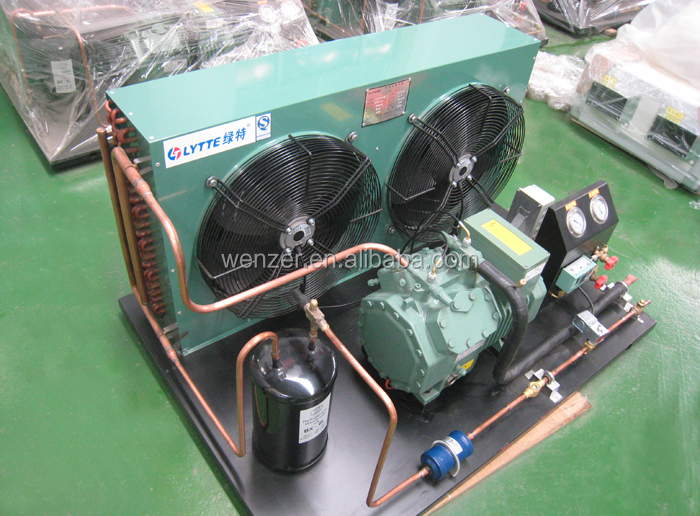 R404a, High Efficiency Box Type Bitzer Condensing Units for Refrigeration cold room