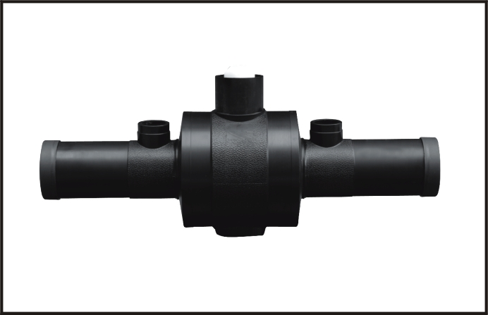 High-quality Plastic Water/Gas PE Pipe Fittings, View