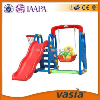 Mini Indoor And Outdoor Kids Plastic Slide Play Set For Home - Buy ...
