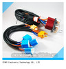 UL H4 Auto Vehicle Hid Headlight Wiring Harness complete with Ceramic Fuse Relay