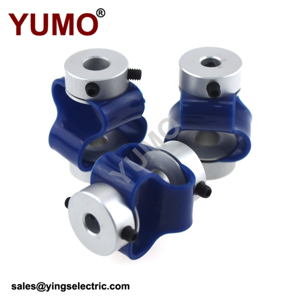 YUMO LS-D-D28L38 Plastic Couplings 8 Shape Shaft Encoder Coupling