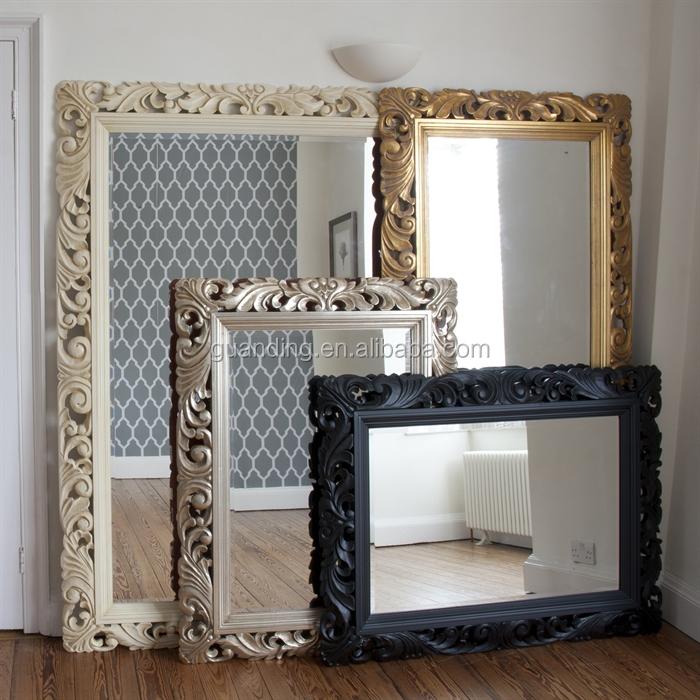 h tel d coratif miroir mural grand pleine longueur miroir mural avec cadre miroir id de produit. Black Bedroom Furniture Sets. Home Design Ideas