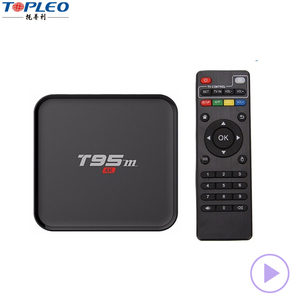 T95 Streaming Smart Iptv Box Android Tv Box 4k with full loaded