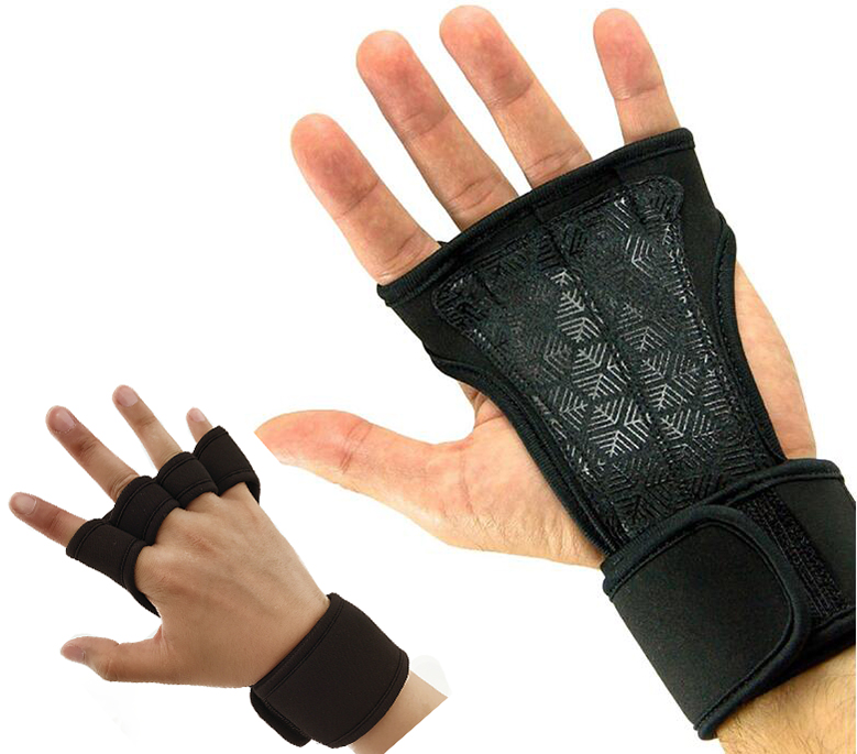 Cross Training Gloves with Wrist Support and Non-Slip Palm,Avoid Calluses