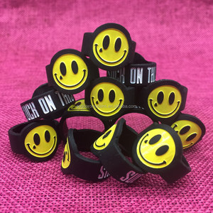 Custom oem logo silicon vape band ring for vape tank mods and E-cigarette vapeband