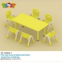 High Quality Game School Table Set And Chairs For Children
