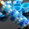 RHS colorful popular custom logo vape band vape band with the best price OEM/Custom silicone custom vape band