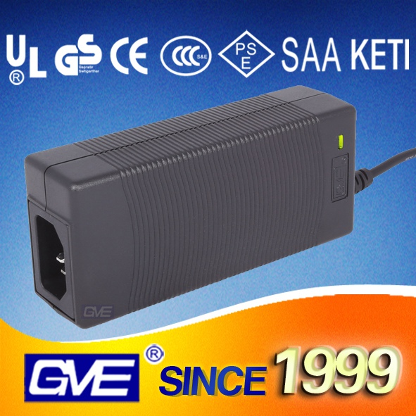 GVE Black/White 84W 24V4A Water pumps Power Adapter Input 100 240Vac 50 60Hz