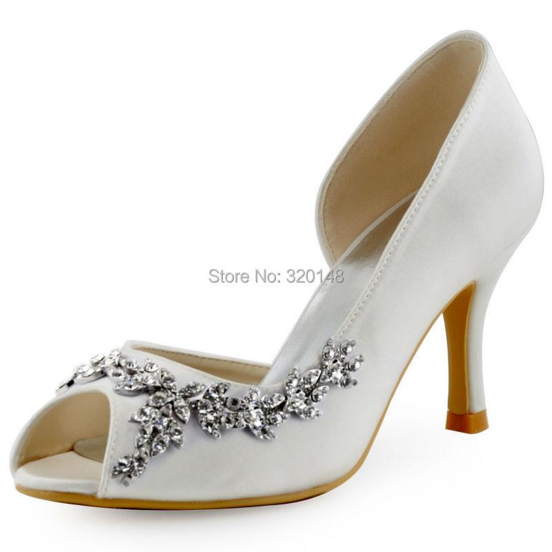 dfef6d3f03f White wedding heels with rhinestones - photo 25
