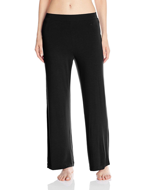 d94949e91d Get Quotations · Nautica Sleepwear Women s Knit Viscose Pant