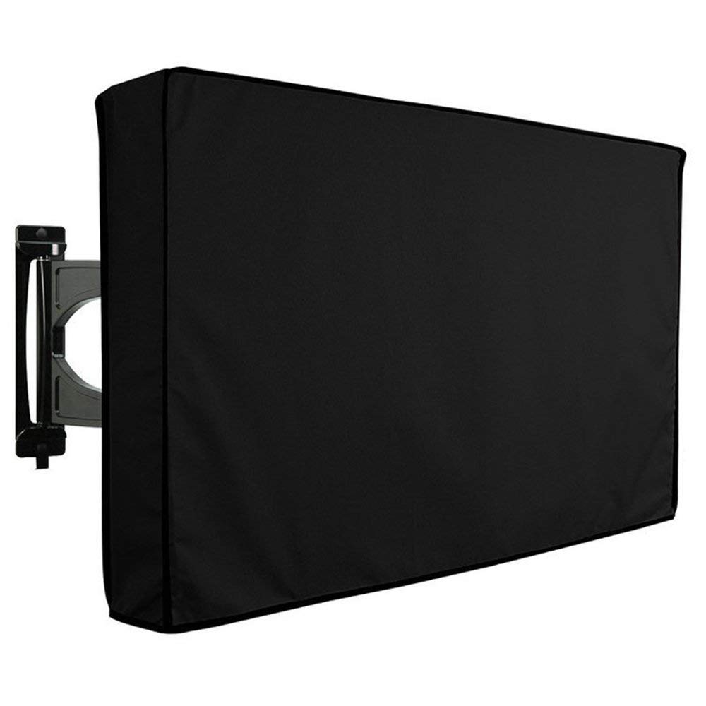"""Waterproof Outdoor TV Cover with Remote Storage - 22"""" - 65"""" Universal TV Protector for LCD, LED, Plasma Television Screens - Outdoor Dust-proof TV Cover Compatible with Standard Mounts (50"""" - 52"""")"""