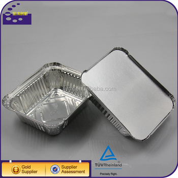 Aluminum Foil Bo Pasta Rice Container Bowl Lunch Box For Bbq ...