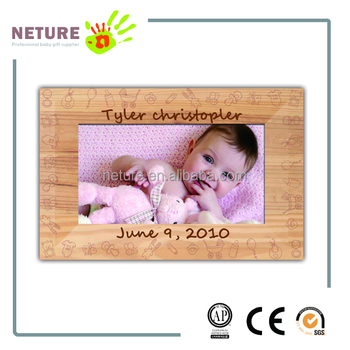 Newborn Baby Wooden Handmade Photo Frame Keepsake Gift Buy