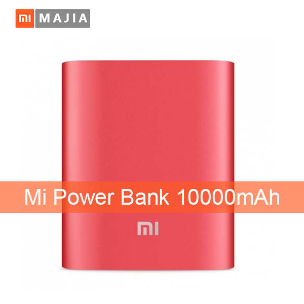 new 100% original xiaomi power bank 10000mAh xiaomi 10000 external battery pack portable charger mobile