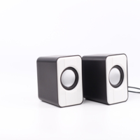 High Quality New 5V 2.0 Computer Wired Usb Mini PC Speakers