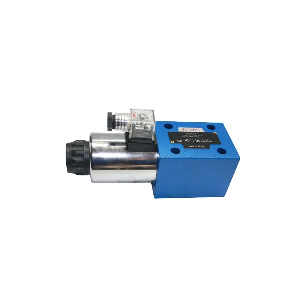 4WE10 D гидравлический Rexroth Тип направленного электрические стабильность управление электромагнитный клапан 24 В DC с низкая цена