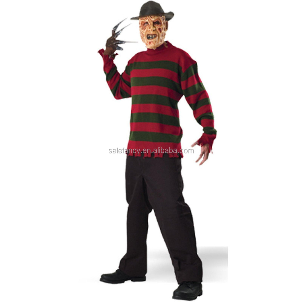fancy dress costumes Street Freddy Krueger Sweater Deluxe Costume QBC-2183