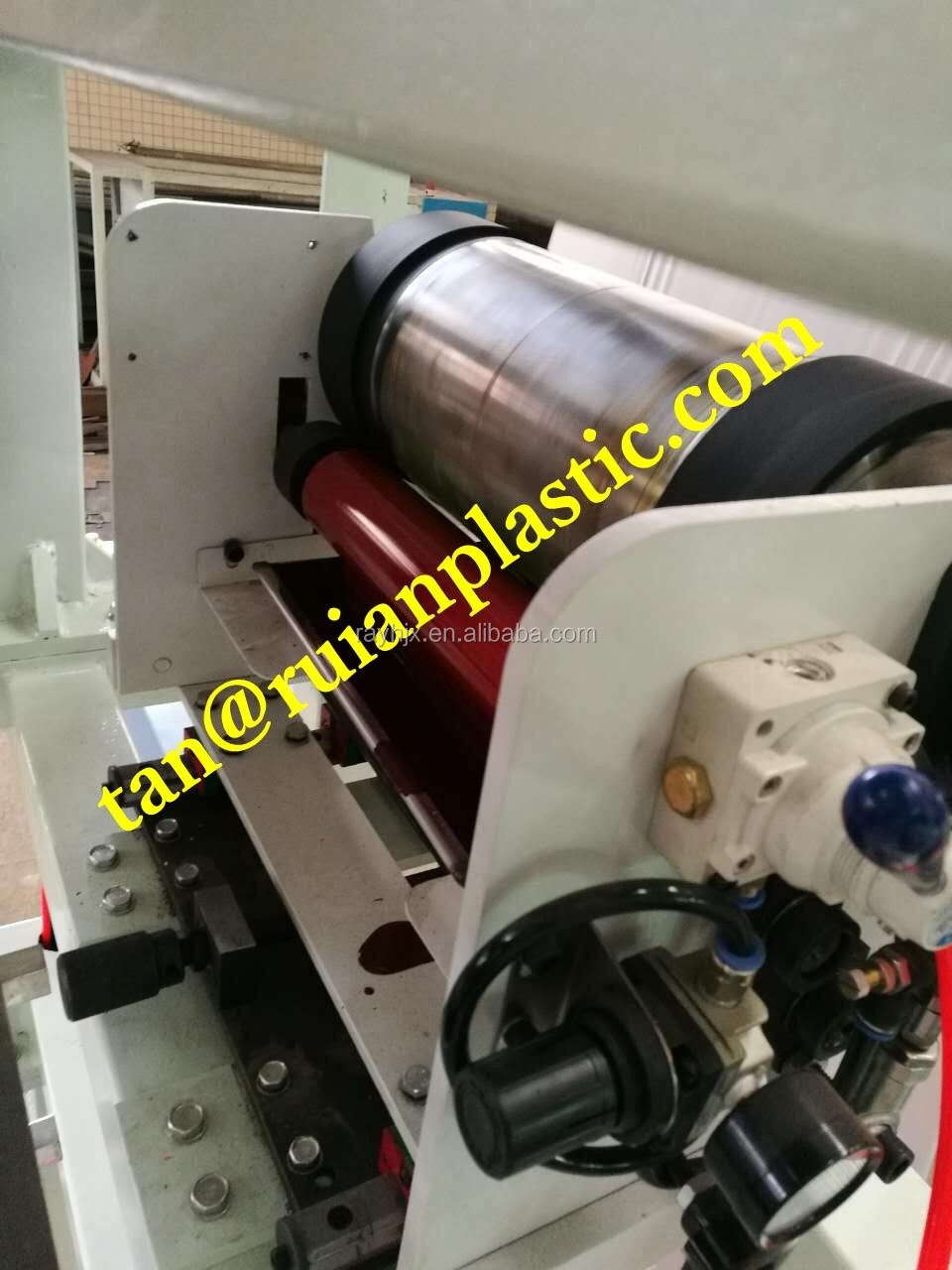 MINI online one color flexo printing machine