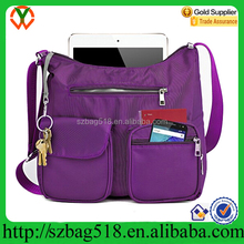 2017 Custom RFID Travel Women Cross body Bag
