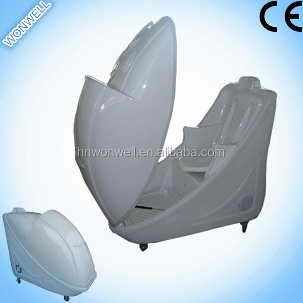Sitting-style steam far infrared ozone sauna spa capsule