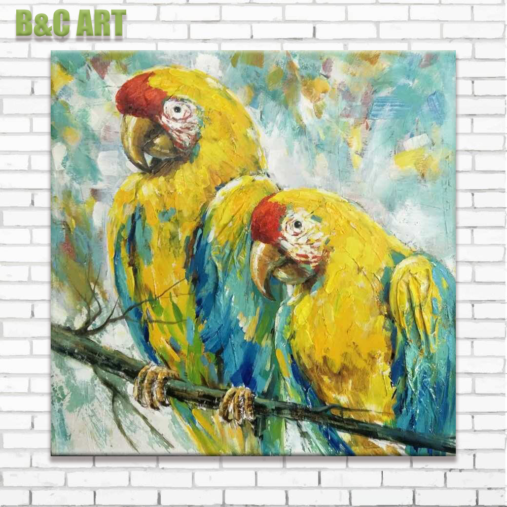 Oil Paintings Of Parrots, Oil Paintings Of Parrots Suppliers and ...