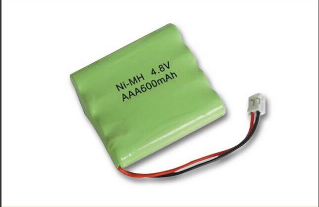 Rechargeable 4.8v 600mah Ni-mh Aaa Battery Pack/battery Packs 4.8v ...