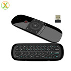 New Original W1 Keyboard Mouse Wireless 2.4G Fly Air Mouse Voice Control Rechargeable Mini Remote Control